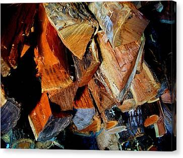 Wheres The Brisket Canvas Print by Laurette Escobar