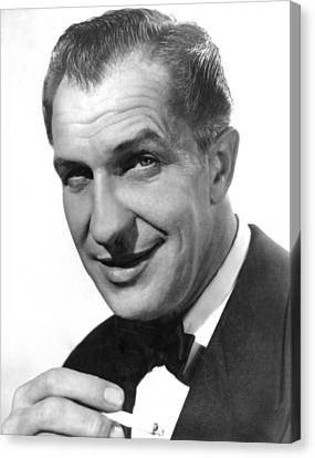 While The City Sleeps, Vincent Price Canvas Print by Everett