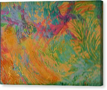 Whimsy To Brighten Your Day Canvas Print by Anne-Elizabeth Whiteway