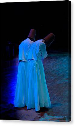 Whirling Dervish - 2 Canvas Print by Okan YILMAZ