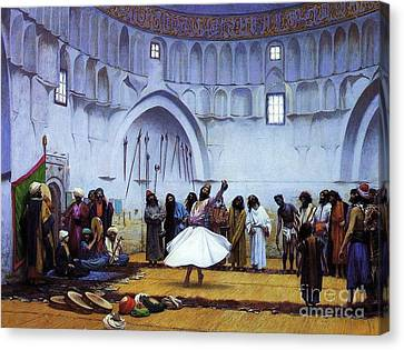 Whirling Dervishes Canvas Print by Pg Reproductions