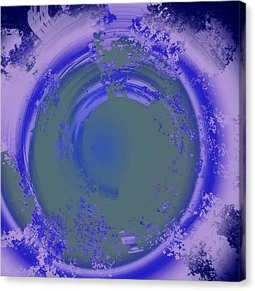 Whirlpool Canvas Print by Yanni Theodorou