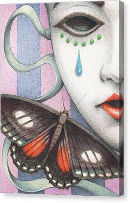 Whisper Of Omens Canvas Print by Amy S Turner