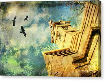 Whispering To The Souls Canvas Print by Darren Fisher