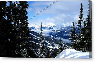 Whistler View  2 Canvas Print by Tanya  Searcy