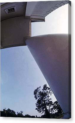 White Columns Canvas Print by Jan W Faul