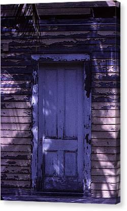 White Door Canvas Print by Bob Whitt