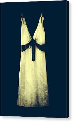 White Dress Canvas Print by Joana Kruse