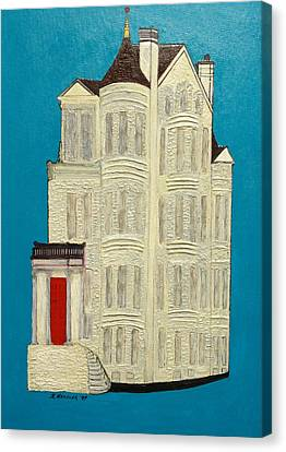 White House Canvas Print by Robert Handler