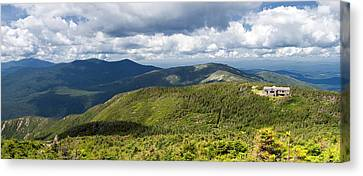 White Mountains New Hampshire Panorama Canvas Print by Stephanie McDowell