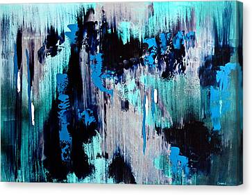 White Noise Canvas Print by Eric Chapman