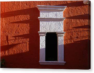White Window Canvas Print by RicardMN Photography