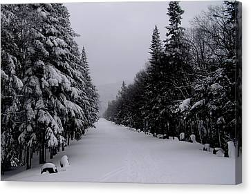 Whiteface Highway Canvas Print