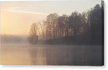 Whitewater Mist Canvas Print by Rob Amend