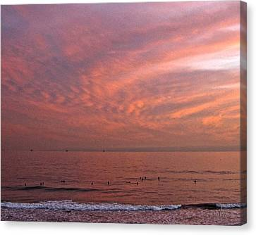 Who Needs Waves Canvas Print
