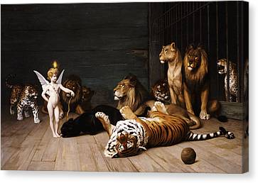 Whoever You Are Here Is Your Master Canvas Print by Jean Leon Gerome
