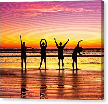 Whole Lotta Love Canvas Print by Donna Pagakis