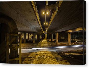 Canvas Print featuring the photograph Whooshing By by Matti Ollikainen