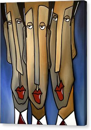 Who's The Boss Canvas Print by Tom Fedro - Fidostudio