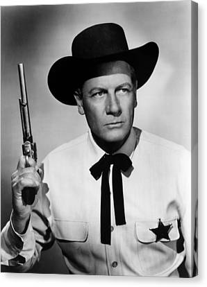 Wichita, Joel Mccrea, 1955 Canvas Print by Everett