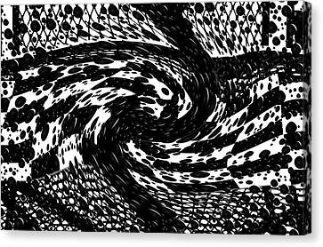 Wild And Crazy.... Canvas Print by Tanya Tanski
