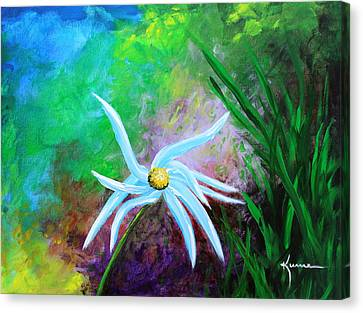 Wild Daisy 2 Canvas Print by Kume Bryant