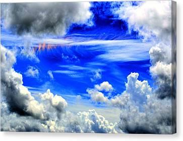 Wild Sky Canvas Print by Bob Jackson
