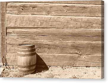 Canvas Print featuring the photograph Wild West by Joe  Ng