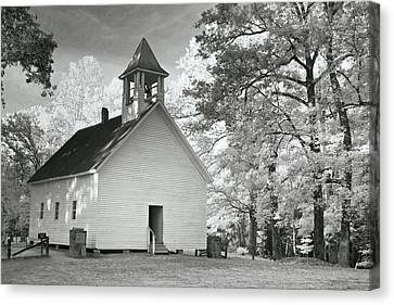 Canvas Print featuring the photograph Wildwood Church by Mary Almond