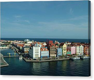 Willemstad Curacao Canvas Print by Gary Wonning