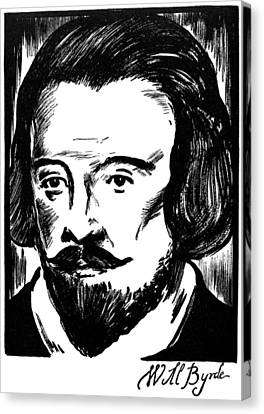 William Byrd (c1540-1623) Canvas Print by Granger