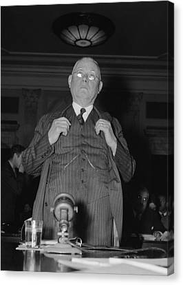 William Green 1873-1952, President Canvas Print by Everett