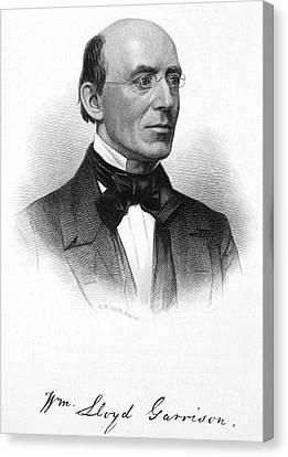 William Lloyd Garrison Canvas Print by Granger