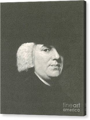 William Paley, English Theologist Canvas Print by Science Source