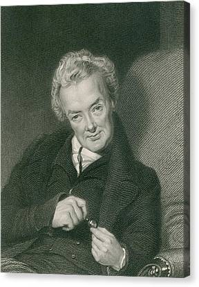 Antislavery Canvas Print - William Wilberforce 1859-1833, British by Everett