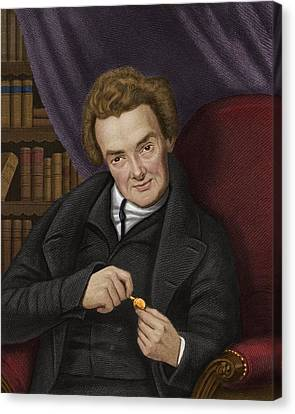 Abolitionist Canvas Print - William Wilberforce, British Abolitionist by Maria Platt-evans
