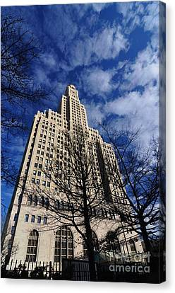Williamsburgh Bank Building Canvas Print by Mark Gilman