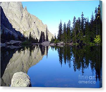 Willow Lake Afternoon Canvas Print by Scotts Scapes