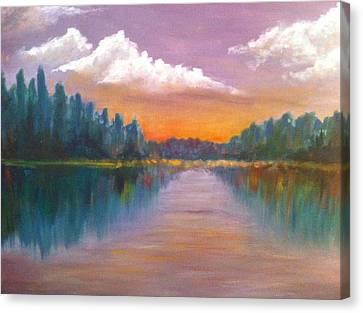 Wilson Lake  Canvas Print