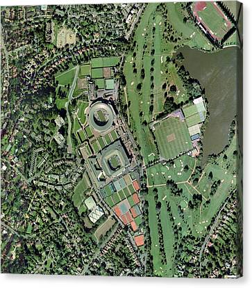 Wimbledon Tennis Complex, Uk Canvas Print