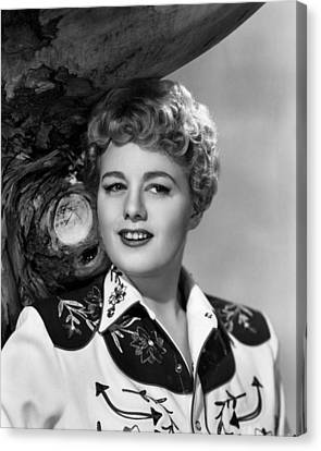 Winchester 73, Shelley Winters, 1950 Canvas Print by Everett