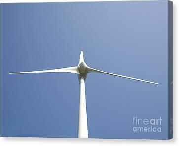 Wind Turbine Canvas Print by Jaak Nilson