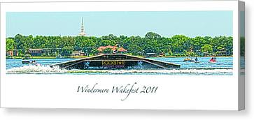 Windermere Wakefest Canvas Print
