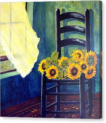 Windfall Canvas Print by Carol Ann Wagner