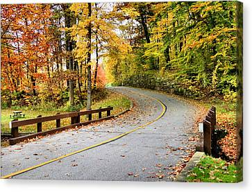 Winding Road Canvas Print by Kristin Elmquist