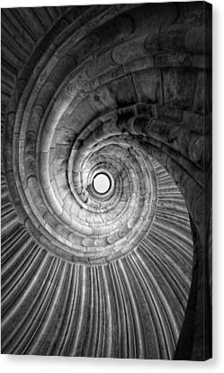 Winding Staircase Canvas Print by Falko Follert