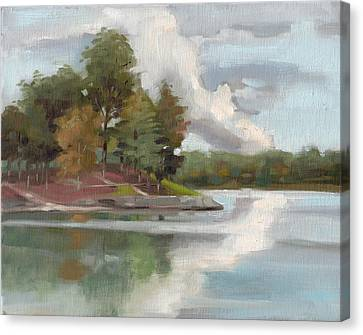 Lake Wylie Canvas Print - Windjammer Park by Todd Baxter