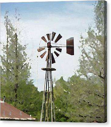 Windmill II, You Can Sell Your Canvas Print by James Granberry