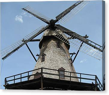 Windmill Canvas Print by Todd Sherlock