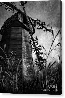 Windmill Wounded Canvas Print